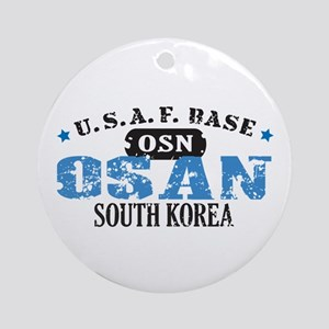 Osan Air Force Base Ornament (Round)